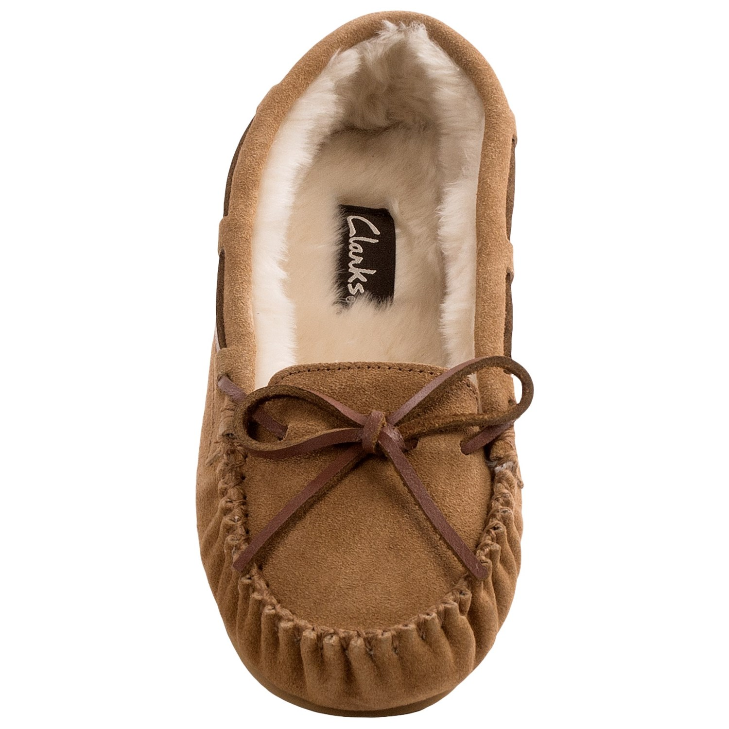 Clarks Plush Moc Slippers For Women Save 60