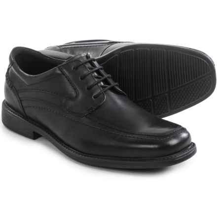 Clarks Quid Freaser Derby Shoes - Leather (For Men) in Black Leather - Closeouts