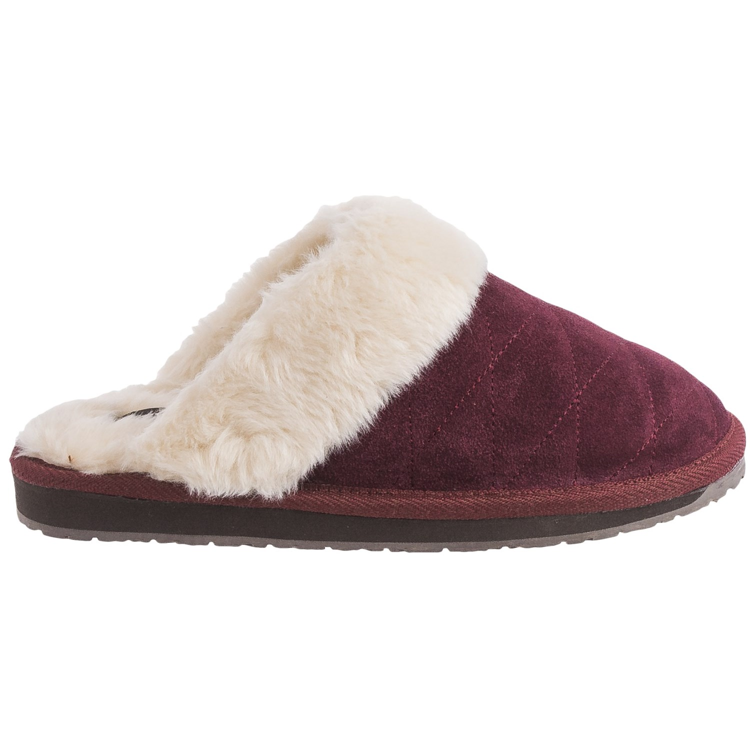 Ugg Bedroom Slippers Clarks Quilted Scuff Slippers For Women Save 65