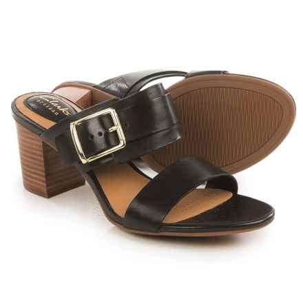 Clarks Ralene Rose Sandals - Leather (For Women) in Black Leather - Closeouts