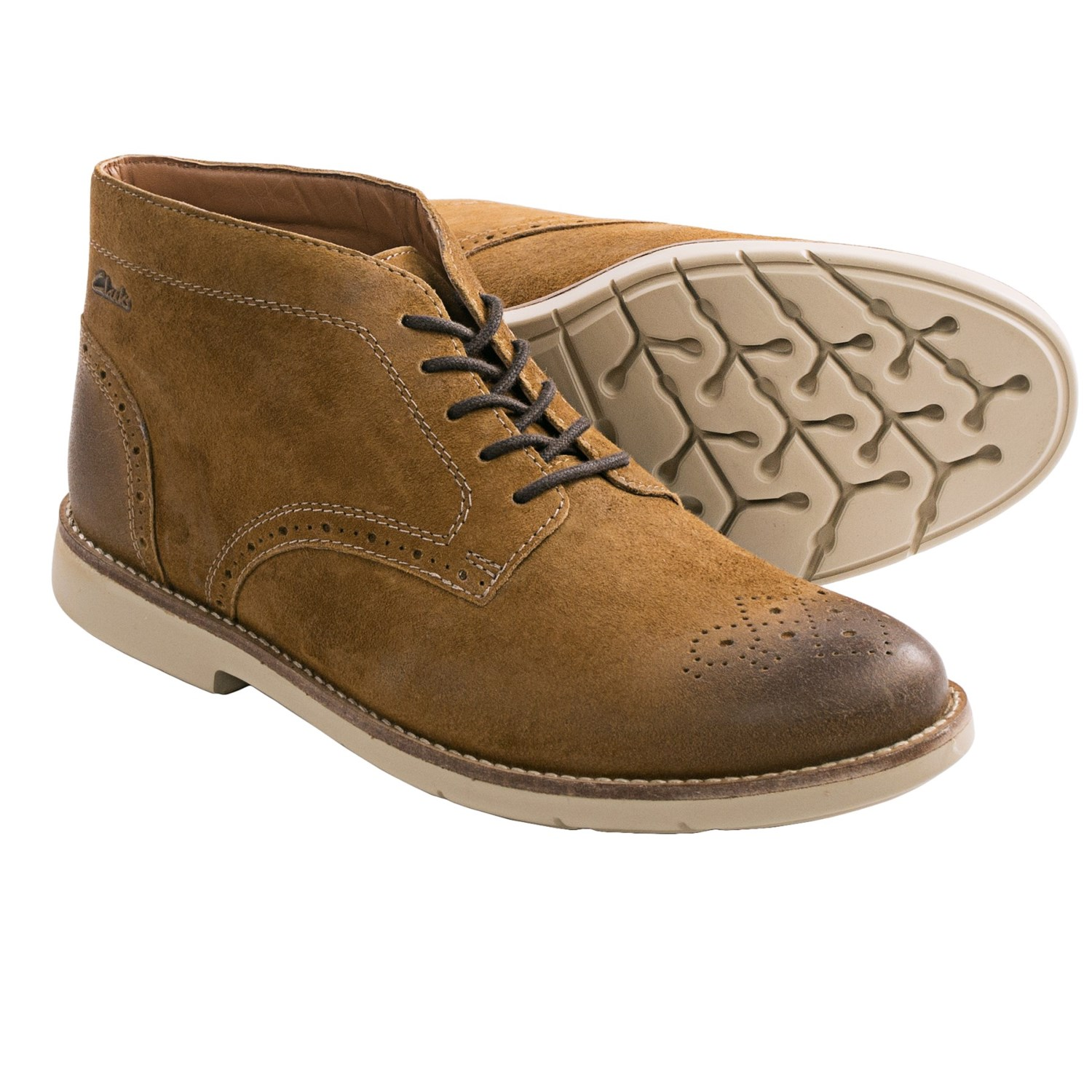 clarks raspin limit chukka boots for save 37