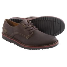 Clarks Remsen Limit Shoes - Leather, Lace-Ups (For Men) in Dark Brown Leather - Closeouts