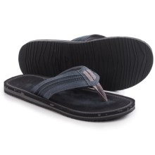 Clarks Riverway Sun Flip-Flops (For Men) in Navy - Closeouts