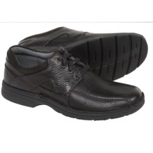 Clarks Senner Blvd Shoes - Lace-Ups (For Men) in Black Tumbled Leather - Closeouts