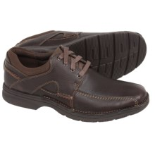 Clarks Senner Blvd Shoes - Lace-Ups (For Men) in Brown Tumbled Leather - Closeouts