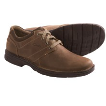 Clarks Senner Place Shoes - Lace-Ups (For Men) in Olive Nubuck - Closeouts