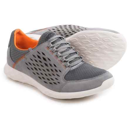 Clarks Seremax Lace Sneakers - Suede (For Men) in Grey Suede - Closeouts