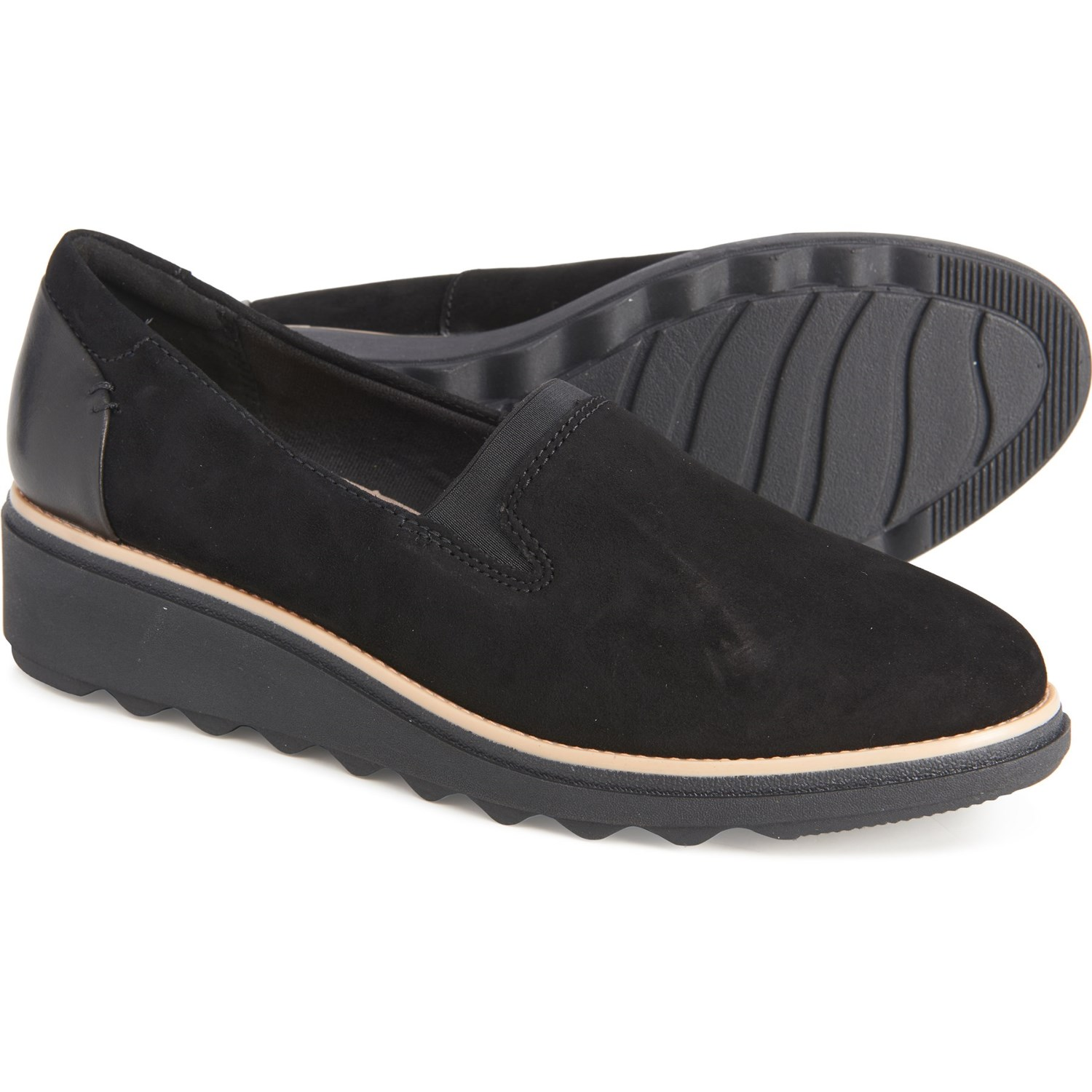 Clarks Sharon Dolly Wedge Shoes (For