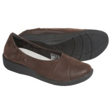 Clarks Sillian Intro Shoes - Slip-Ons (For Women) in Dark Brown - Closeouts