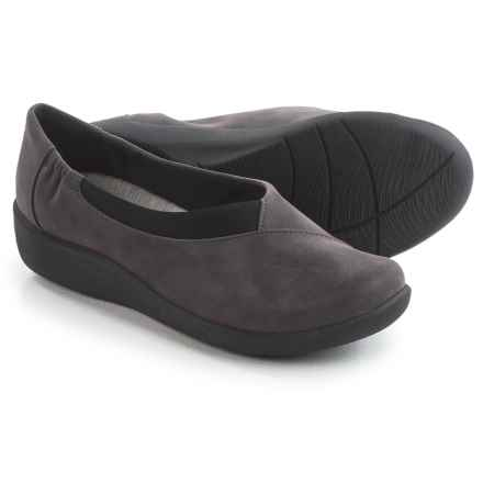 Clarks Sillian Jetay Shoes - Slip-Ons (For Women) in Purple/Grey - Closeouts