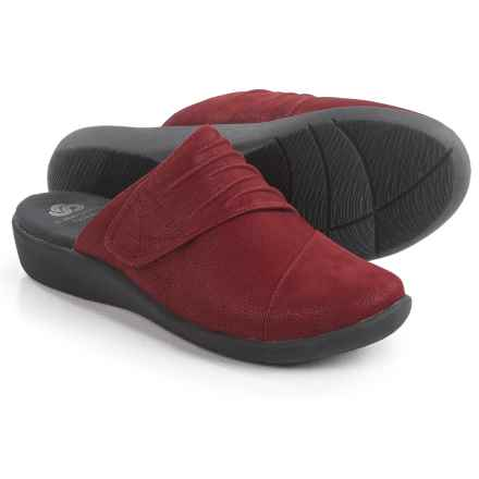 Clarks Sillian Rhodes Shoes (For Women) in Cherry - Closeouts