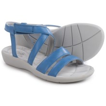 Clarks Sillian Spade Sandals (For Women) in Blue - Closeouts