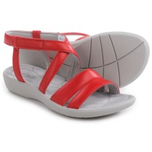 Clarks Sillian Spade Sandals (For Women) in Red - Closeouts
