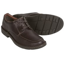Clarks Stratton Time Shoes - Leather, Lace-Ups (For Men) in Brown Leather - Closeouts