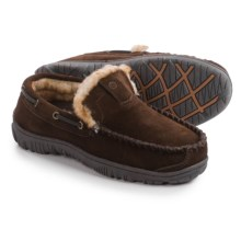 Clarks Suede Moccasins (For Men) in Brown Suede - Closeouts