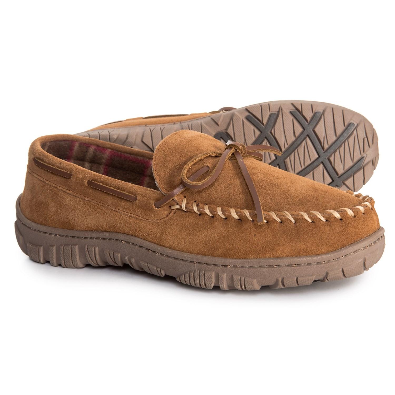 huge selection of bafc7 48ba4 Clarks Suede Slippers (For Men)