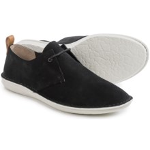 Clarks Tamho Edge Shoes - Lace-Ups (For Men) in Black Suede - Closeouts