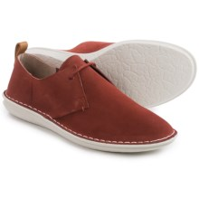 Clarks Tamho Edge Shoes - Suede (For Men) in Rust Suede - Closeouts