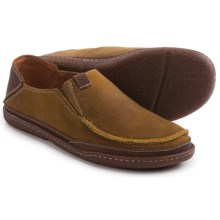 Clarks Trapell Form Shoes - Slip-Ons (For Men) in Tan Leather - Closeouts