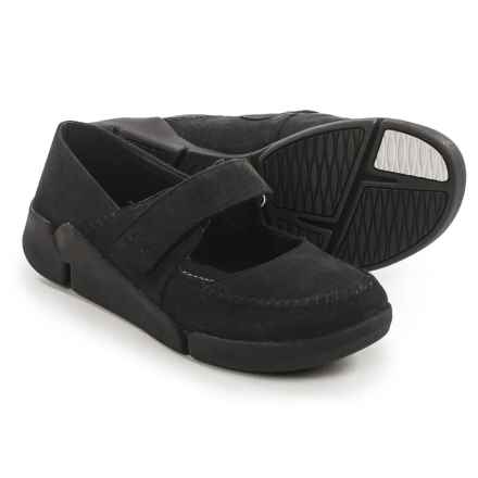 Clarks Tri Amanda Mary Jane Shoes - Leather (For Women) in Black Combo - Closeouts
