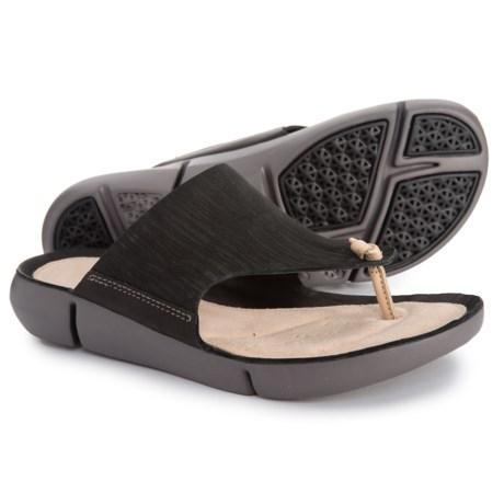 351fd9dfc Clarks Tri Carmen Sandals - Leather (For Women) in Black