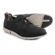Clarks Trigen Walk Shoes - Nubuck (For Men) in Black Nubuck - Closeouts