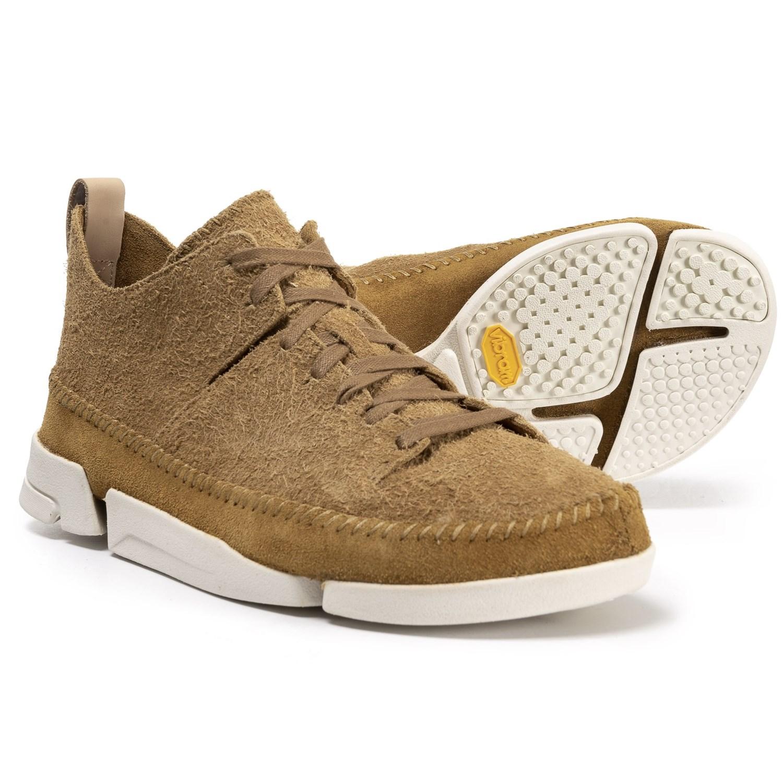 Clarks Trigenic Flex Casual Shoes - Suede (For Men) in Oak Suede
