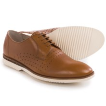 Clarks Tulik Edge Shoes - Lace-Ups (For Men) in Tan Leather - Closeouts