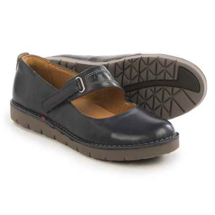 Clarks Un Briarcrest Mary Jane Shoes - Leather (For Women) in Navy - Closeouts