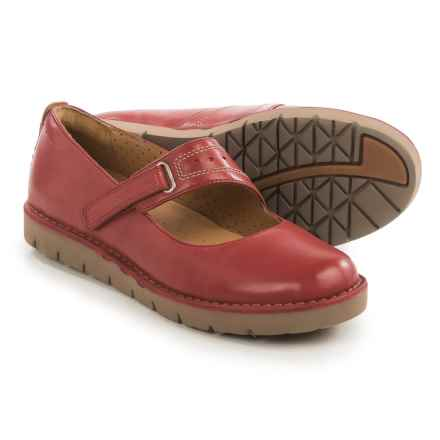 Clarks Un Briarcrest Mary Jane Shoes - Leather (For Women) in Red - Closeouts