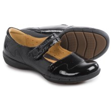 Clarks Un Helma Mary Jane Shoes - Leather (For Women) in Black Patent - Closeouts