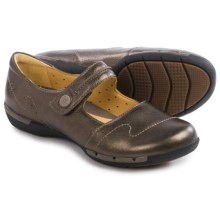Clarks Un Helma Mary Jane Shoes - Leather (For Women) in Bronze Leather - Closeouts