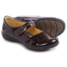 Clarks Un Helma Mary Jane Shoes - Leather (For Women) in Burgundy Patent - Closeouts