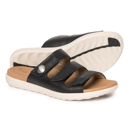4212eced9c9 Clarks Un Reisel Myra Sandals - Leather (For Women) in Black
