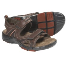 Clarks Un.Bridge Sandals - Leather (For Men) in Brown Leather - Closeouts