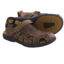 Clarks Un.Bryman Bay Leather Sandals (For Men) in Brown Leather - Closeouts