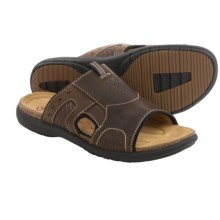 Clarks Un.Bryman Easy Sandals (For Men) in Brown Leather - Closeouts