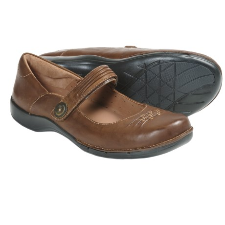 Clarks Un.Cedar Mary Jane Shoes - Leather (For Women) in Brown