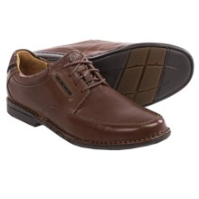 Clarks Un.Corner Time Shoes - Lace-Ups (For Men) in Brown Leather - Closeouts