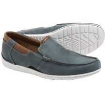 Clarks Un.Graysen Free Loafers - Nubuck (For Men) in Denim - Closeouts