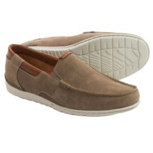 Clarks Un.Graysen Free Loafers - Nubuck (For Men) in Taupe Nubuck - Closeouts