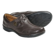 Clarks Un.Maple Shoes - Leather (For Women) in Dark Brown - Closeouts