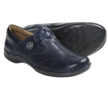 Clarks Un.Maple Shoes - Leather (For Women) in Navy - Closeouts