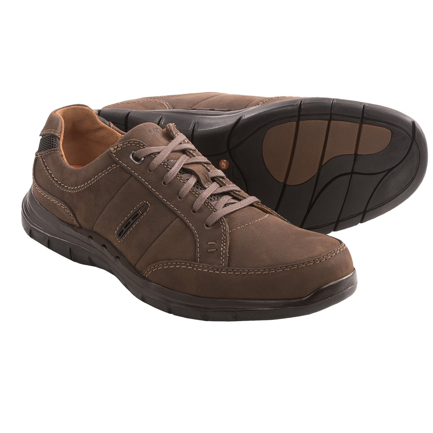 Clarks Un.Preston Shoes (For Men) in Dark Brown Nubuck