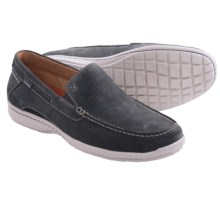 Clarks Un.Sand Shoes - Slip-Ons (For Men) in Navy Nubuck - Closeouts