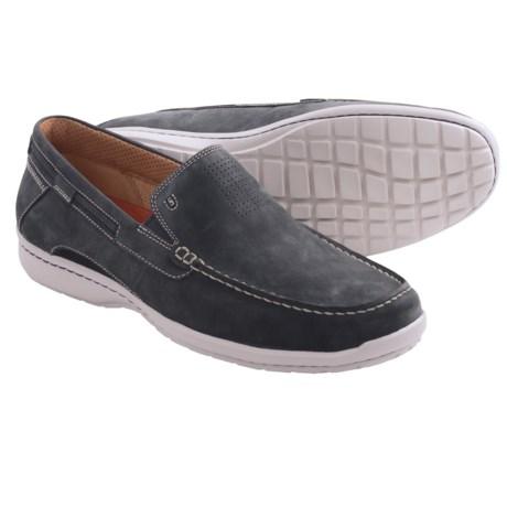 Clarks Un.Sand Shoes - Slip-Ons (For Men) in Navy Nubuck
