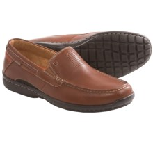 Clarks Un.Sand Shoes - Slip-Ons (For Men) in Tan Leather - Closeouts