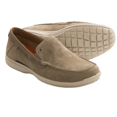 Clarks Un.Sand Shoes - Slip-Ons (For Men) in Taupe Nubuck