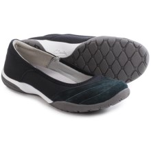 Clarks Vailee Orchid Shoes - Slip-Ons (For Women) in Black - Closeouts