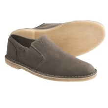 Clarks Vexation Shoes - Slip-Ons (For Men) in Olive Nubuck - Closeouts